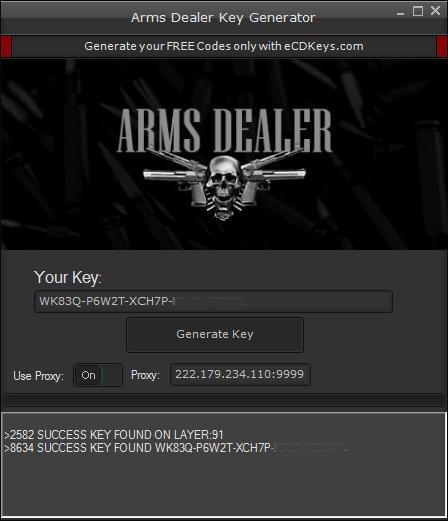 Arms Dealer cd-key