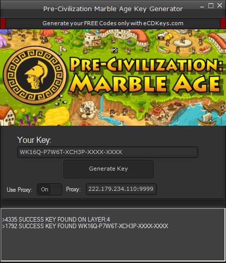Pre-Civilization Marble Age cd-key