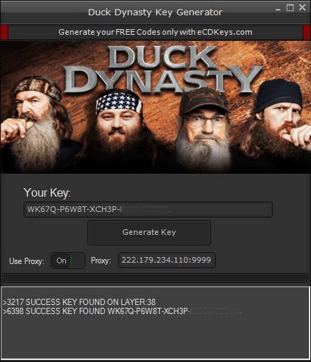 Duck Dynasty cd-key