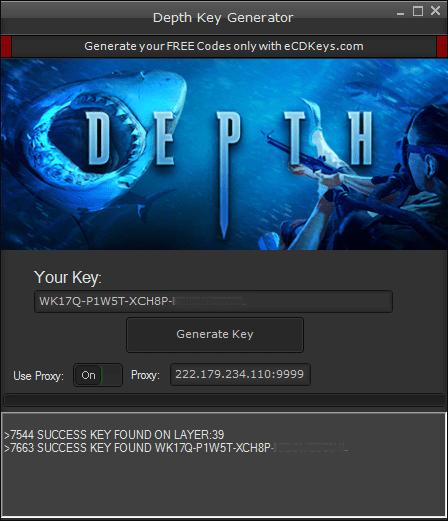 Depth cd-key