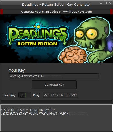 Deadlings - Rotten Edition cd-key