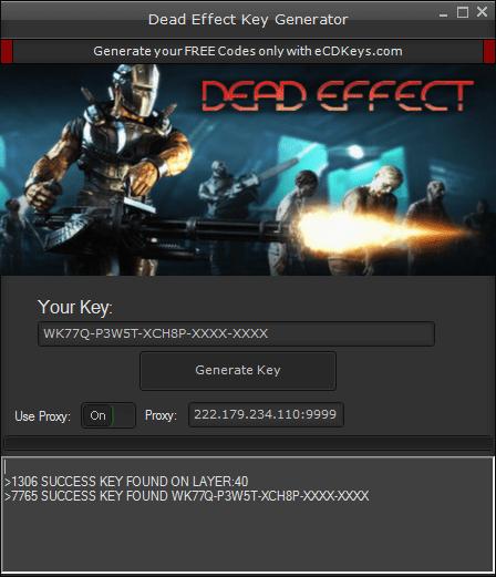 Dead Effect cd-key