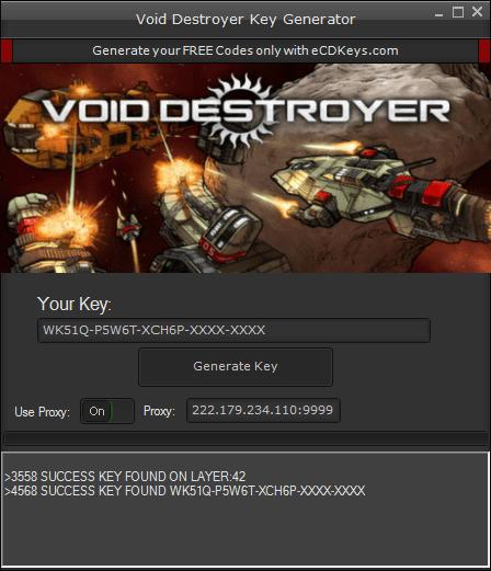 Void Destroyer cd-key