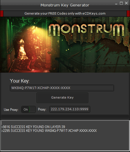 Monstrum cd-key