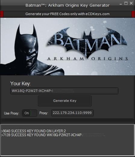 Batman Arkham Origins cd-key