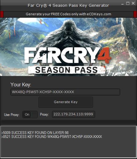 Far Cry 4 Season Pass cd-key