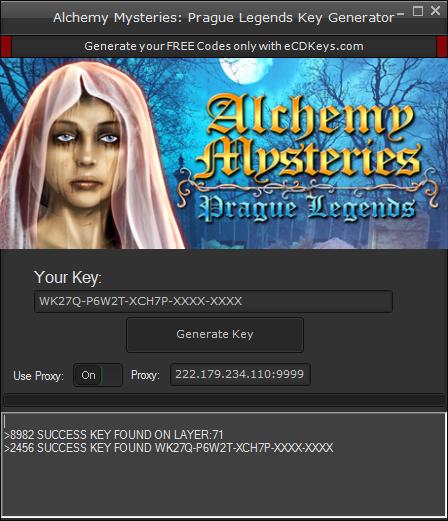 Alchemy Mysteries: Prague Legends cd-key