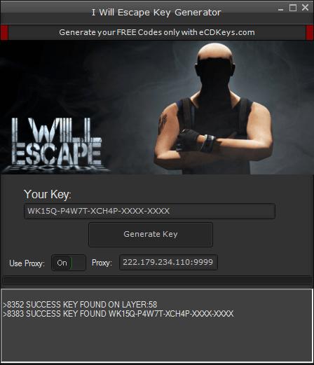 I Will Escape cd-key