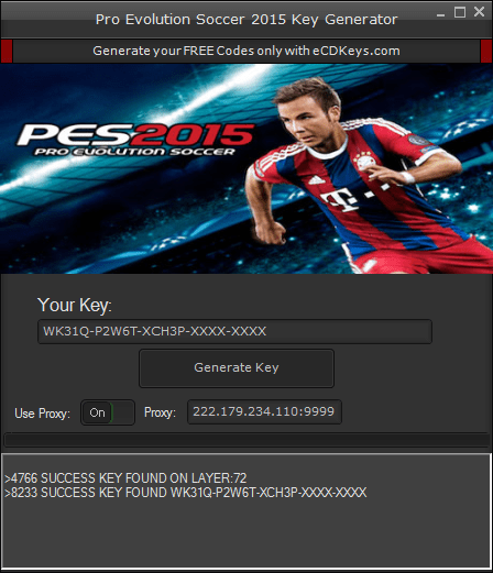 Pro Evolution Soccer 2015 cd-key