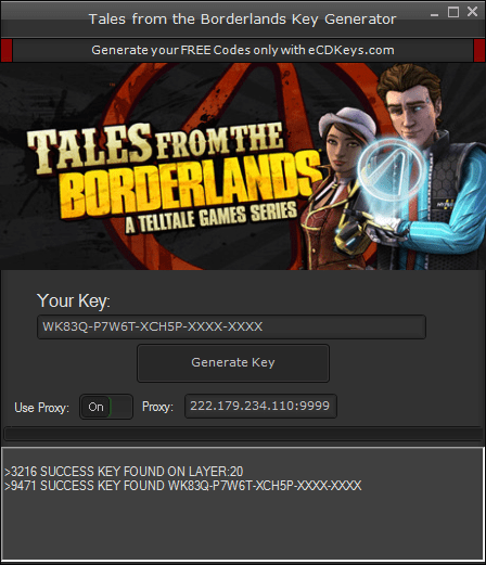 Tales from the Borderlands cd-key