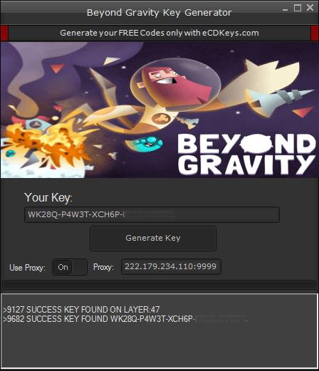 Beyond Gravity cd-key