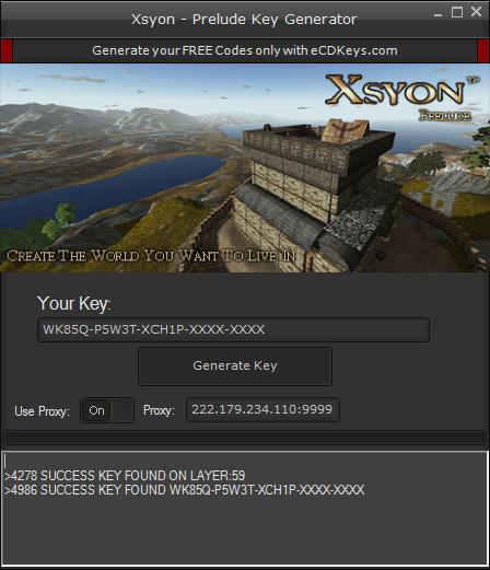 Xsyon - Prelude cd-key