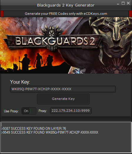 Blackguards 2 cd-key