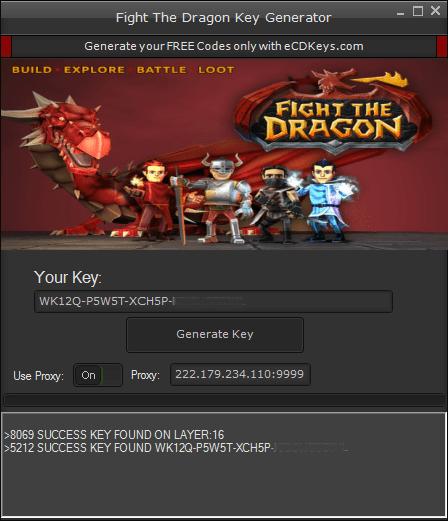 Fight The Dragon cd-key