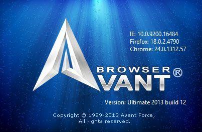 Avant Browser 2016 Build 2