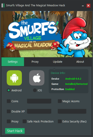 Smurfs Village and the Magical Meadow Hack