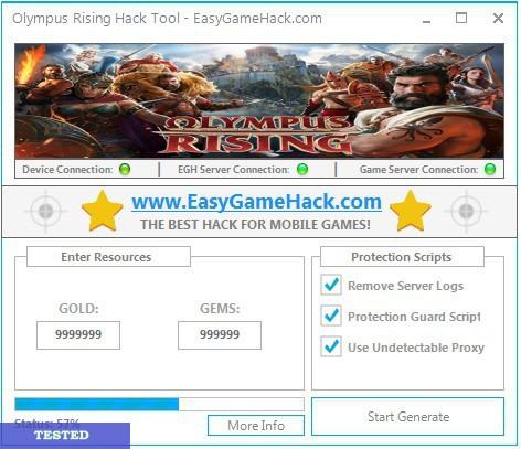 Olympus Rising Hack Tool