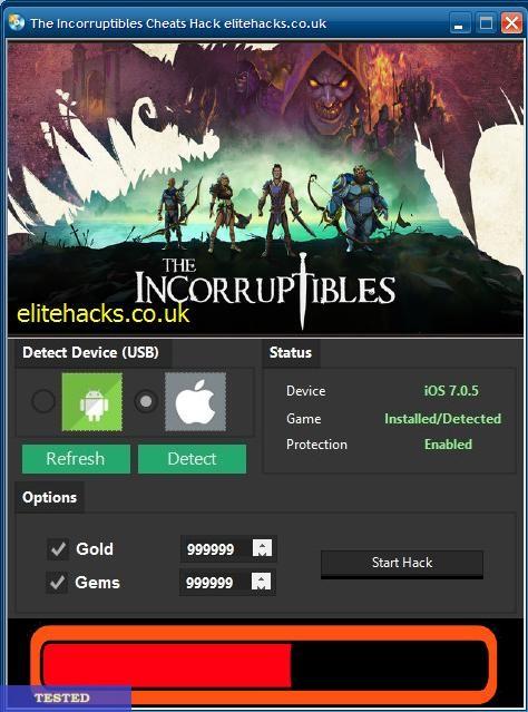 The Incorruptibles Hack