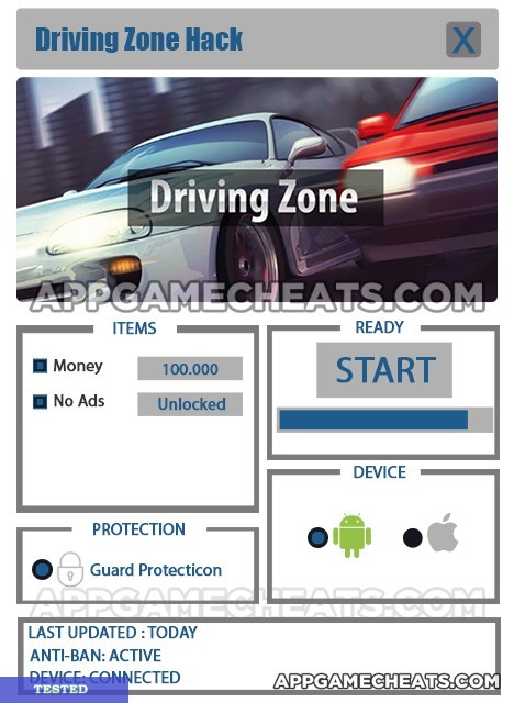Driving Zone Hack