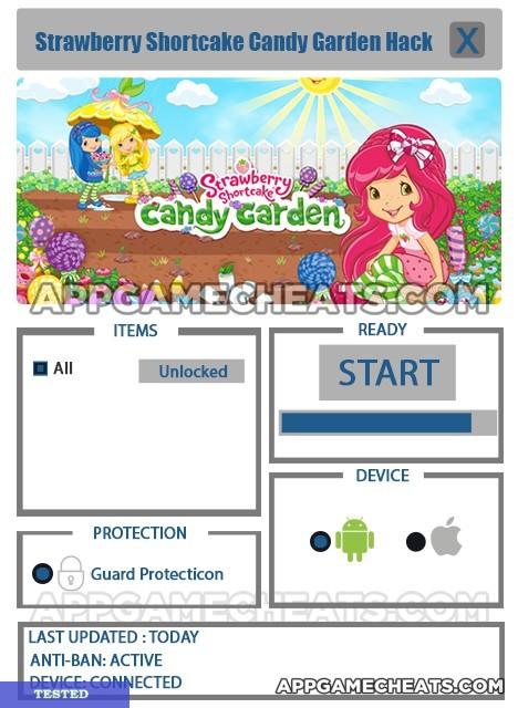 Strawberry Shortcake Candy Garden Hack