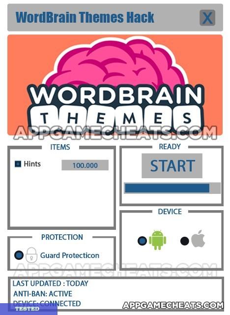 WordBrain Themes Hack