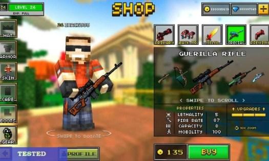 Pixel Gun 3D Hack & Cheats for Coins and Gems