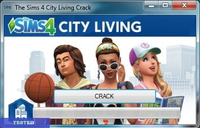 THE SIMS 4 CITY LIVING CRACK