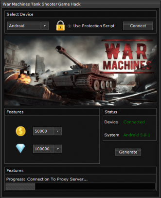 War Machines Tank Shooter Game Hack