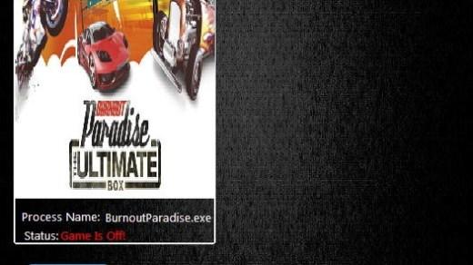 BURNOUT PARADISE THE ULTIMATE BOX - TRAINER
