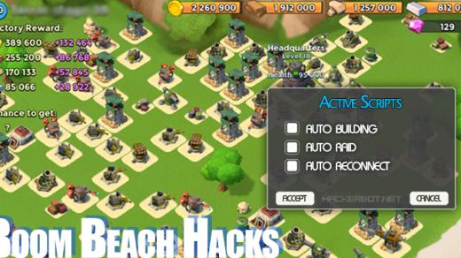 Boom Beach Hack – Unlimited Free Diamonds Generator