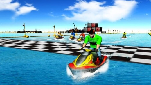 Real Power Boat Stunt Racing Hack
