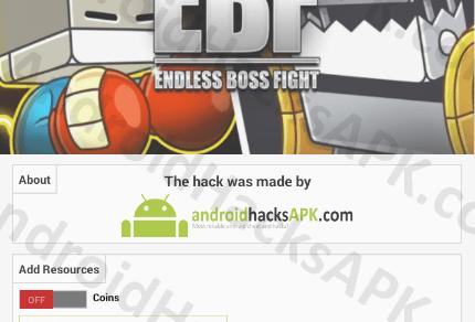 Endless Boss Fight Hack APK Coins