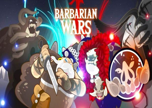 Babarian Wars A Hero Idle Merger Game APK Mod