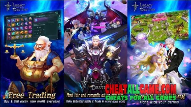 Legacy Of Destiny Hack 2019, The Best Hack Tool To Get Free Diamonds