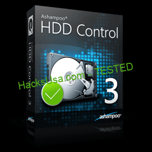 Ashampoo HDD Control Activation Key With Crack