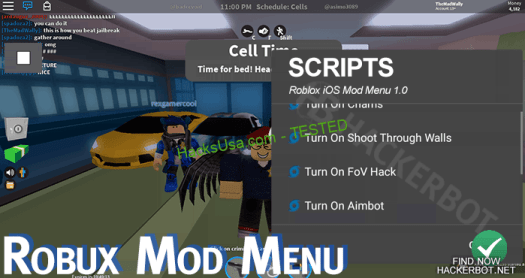 roblox mod menu