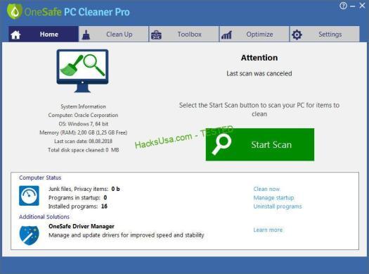 OneSafe PC Cleaner Pro v7.0.3.73 Multilingual-P2P – Releaselog ...