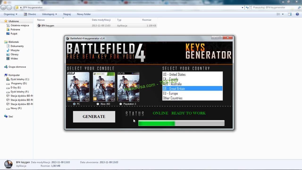 Battlefield 4 – Keygen Serial