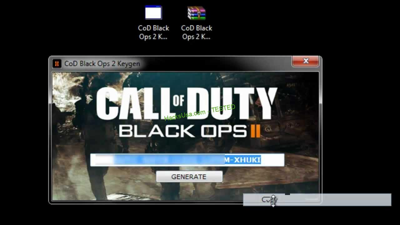 Call of Duty: Black Ops II Keygen