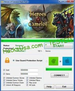 Heroes of Camelot Hack Tool Download | Tool hacks, Camelot, Hero