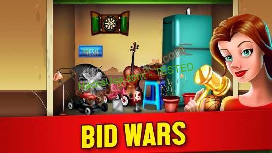 Bid Wars Patch and Cheats money, gold