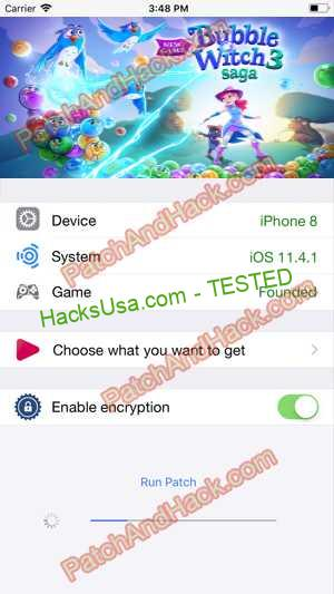 Bubble Witch 3 Saga Hack - patch and cheats for Lives, Money and other stuff on Anroid and iOS