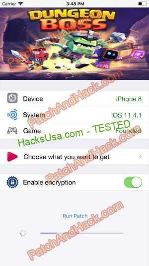 Dungeon Boss Hack - patch and cheats for Crystals, Damage and other stuff on Anroid and iOS