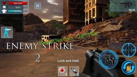 Enemy Strike 2 Patch and Cheats bullets, gold