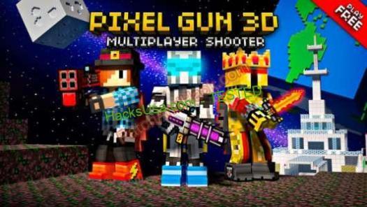 Pixel Gun 3D Patch and Cheats money,crystals