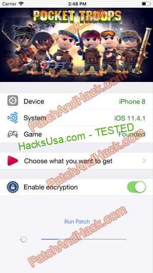 Pocket Troops Hack - patch and cheats for Money, Coins and other stuff on Anroid and iOS
