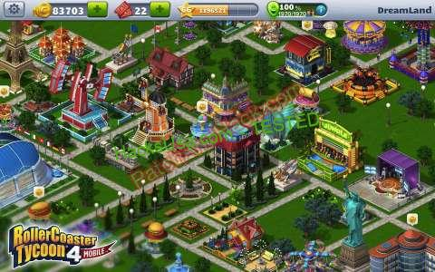 RollerCoaster Tycoon 4 Hack and Cheats for Android and IOS Free 2