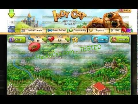 Indy Cat Hack (Unlimited Bows and Extra Lives Cheats) | Cat hacks ...