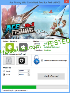 Ace Fishing Wild Catch Hack gold Unlimited lcash