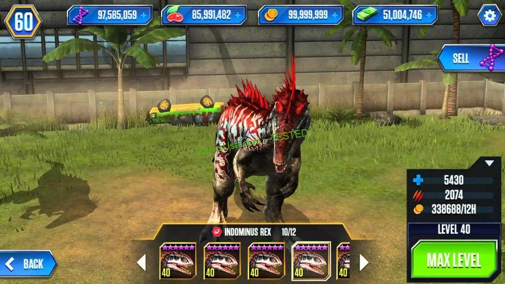 Jurassic World The Game Hack Food, Unlimited Coins, Unlimited DNA
